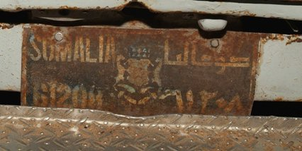 auto targa somalia foto di gianni lannes