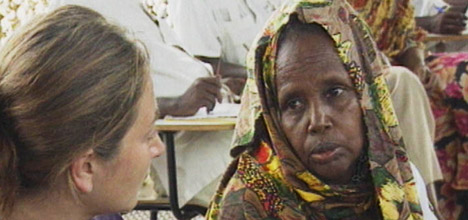 ilaria alpi con donna somala