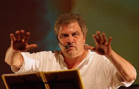 Daniele Biacchessi (foto di Roberto Agostini)