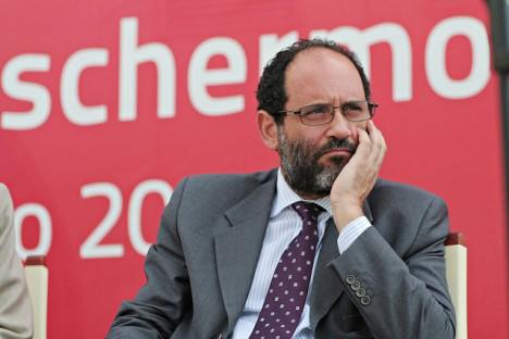 Antonio Ingraio al Premio 2010 (foto di Luca Dammicco)