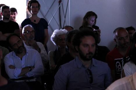 Antonio Ingroia e Mariangela Gritta Grainer alla presentazione della Fondazione Lelio Basso (foto di Laura Murino)