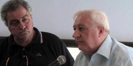 Daniele Biacchessi e Manlio Milani