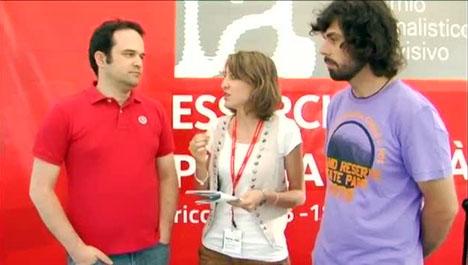 Francesco Cordio e Mario Pantoni al Premio Ilaria Alpi