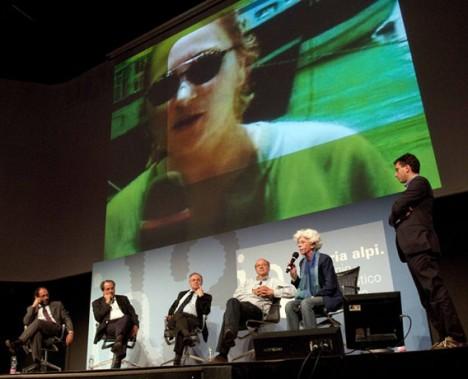 Un dibattito dell'edizione 2010 (foto di Luciano Gallini)