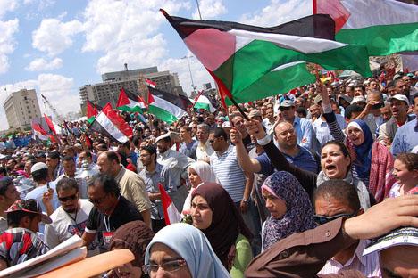 Tahrir Square a Il Cairo (foto di Naicomenò)