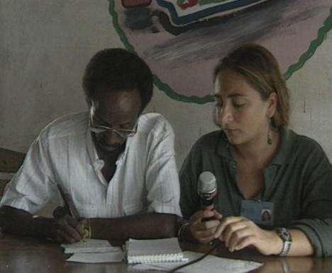 La giornalista del Tg3 Ilaria Alpi