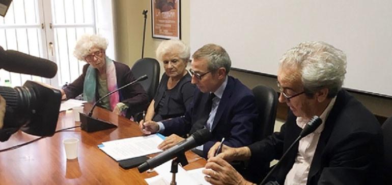 Conferenza stampa Murialdi Roma